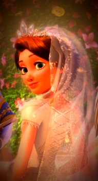 Rapunzel - Wedding Dress - disney-princess Photo