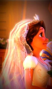 Rapunzel - Wedding Dress