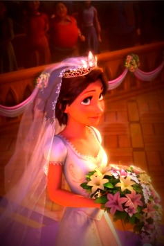 Rapunzel - Wedding Dress