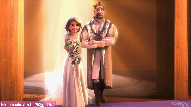 Rapunzel's wedding vestido