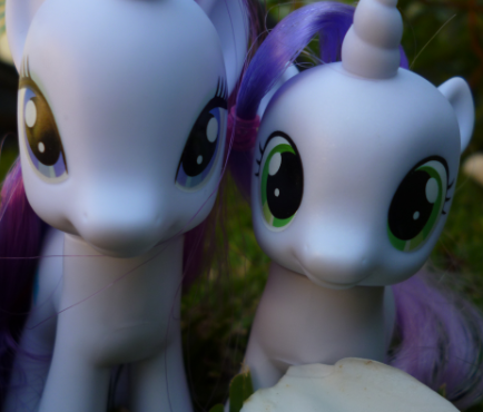 Rarity and SweetieBelle