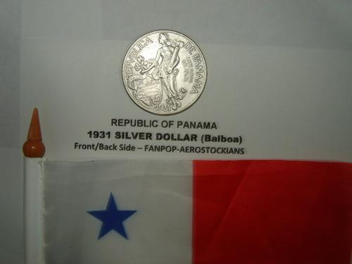 Republic of Panama 1931 Silver Dollar (Balboa)