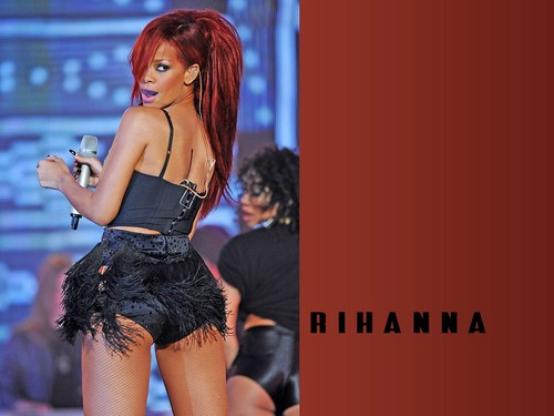 Rihanna wallpaper possibly containing a leotard, a bustier, and a swimsuit called RiRi