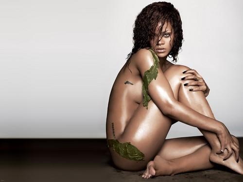 Rihanna fond d'écran entitled RiRi