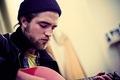 Robert Pattinson - music photo