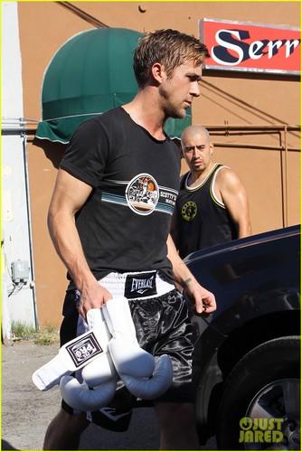 Ryan Gosling: Barefoot boksingero