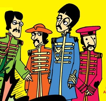 Resultado de imagen de sergeant pepper's lonely hearts club band