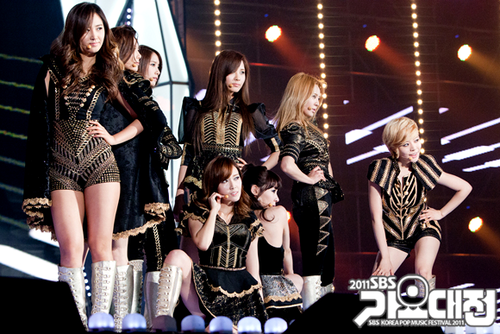 SNSD - 2011 SBS Gayo Daejun Official Pictures
