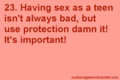 Safe love