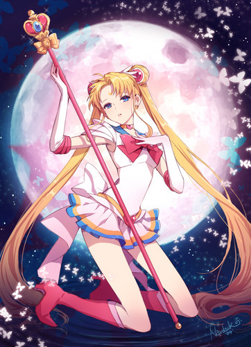 Bakugan and Sailor Moon! দেওয়ালপত্র titled Sailor Moon