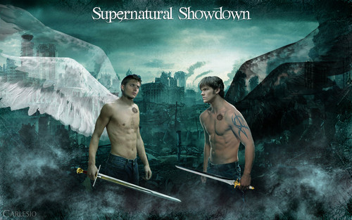 Sam & Dean angels