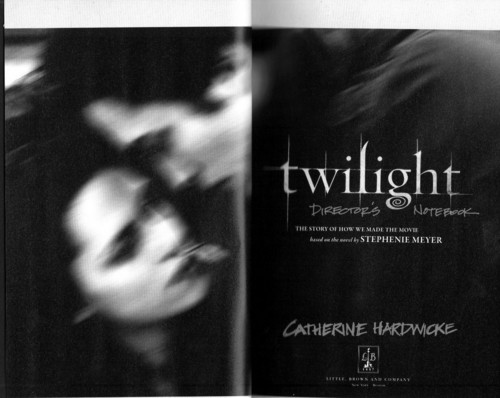 Twilight Movie wallpaper called Scans of Twilight Movie Companion by Catherine Hardwicke