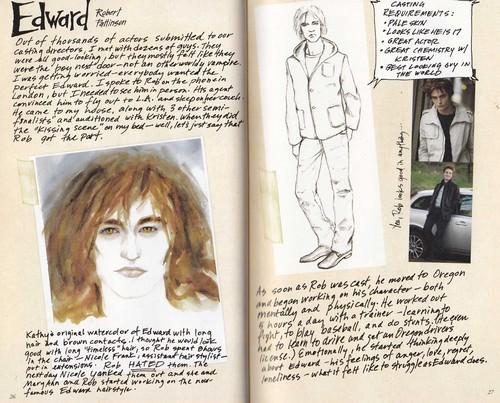 Scans of Twilight Movie Companion by Catherine Hardwicke