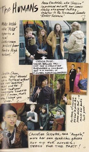 Scans of Twilight Movie Companion द्वारा Catherine Hardwicke