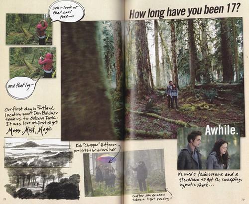 Scans of Twilight Movie Companion bởi Catherine Hardwicke