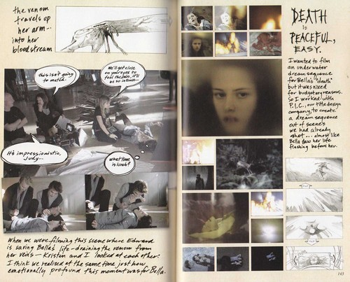 Scans of Twilight Movie Companion por Catherine Hardwicke