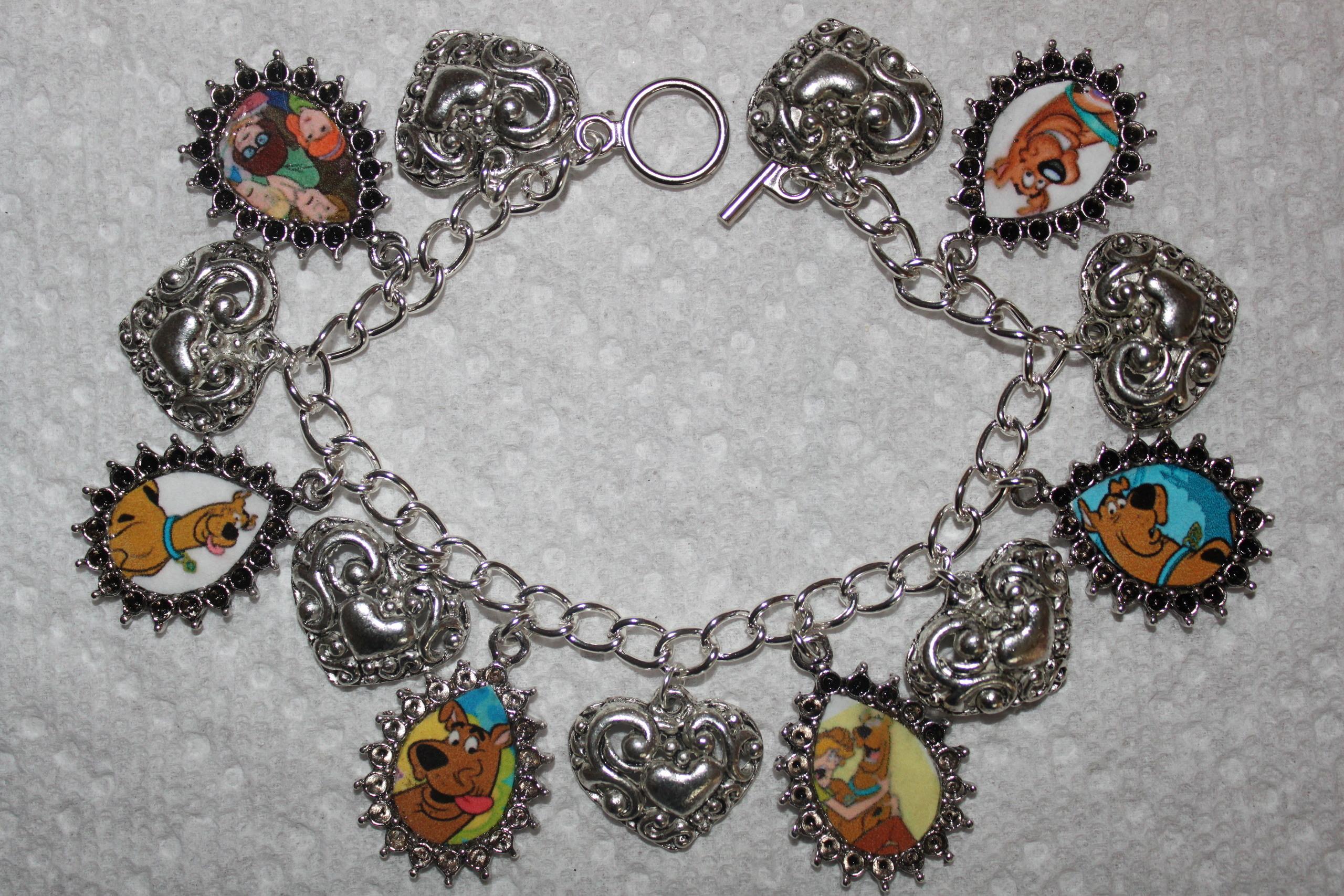 Scooby Doo Charm Bracelet