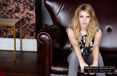 Emma Roberts wallpaper with a throne called Sean Gleason Photoshoot