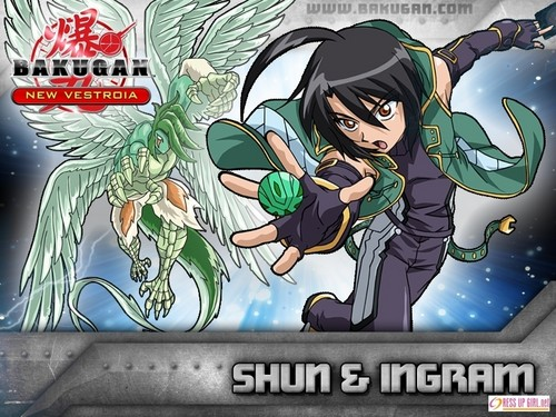 Bakugan and Sailor Moon! wallpaper with anime titled Shun Kazami