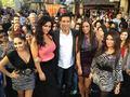 Snooki,JWOWW,Sammi,Deena with Mario Lopez