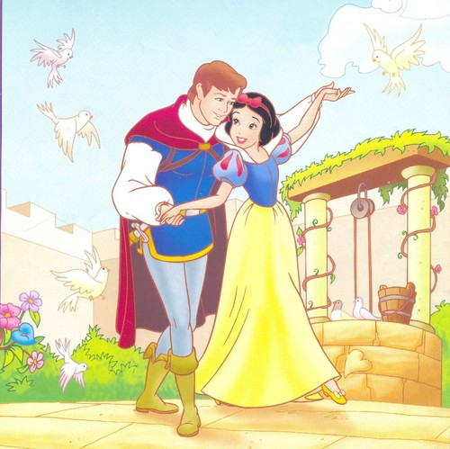 Snow White achtergrond with anime titled Snow white and prince