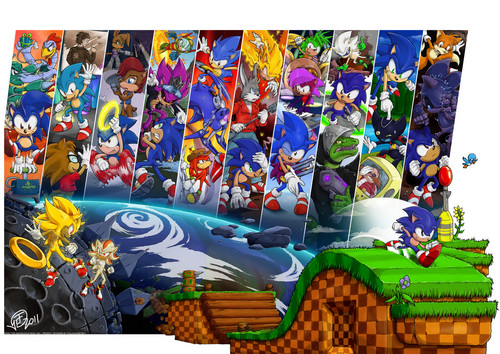 Sonic 20th Archetype