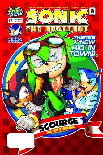 Sonic Comic Issue 161-There's a New Kid in Town!