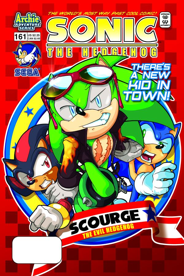 sonic archie comic series images sonic comic issue 161 there s a new