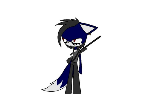 Sora The নেকড়ে (My original character)