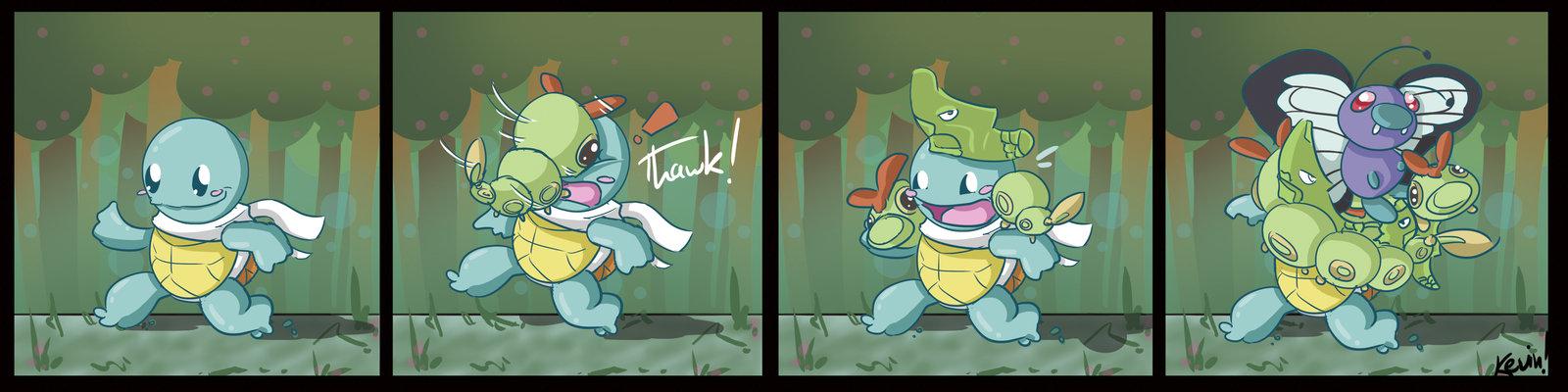 Fan Comics Pokemon Pokémon Squirtle Comics