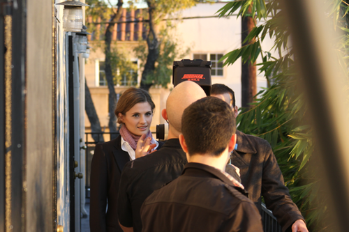"Stana in ""Fletcher Drive"" Web Series - BTS"