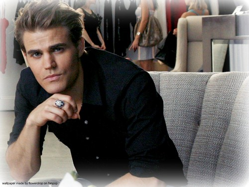 Stefan Salvatore 壁纸 containing a business suit and a well dressed person entitled Stefan 壁纸 ✯