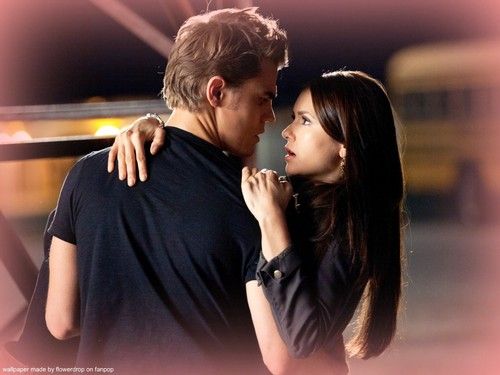 Stefan & Elena fondo de pantalla with a portrait called Stefan and Elena ❤