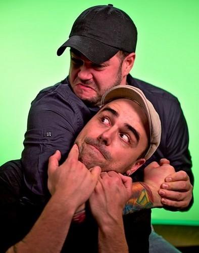 Steve and Tango