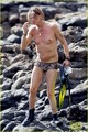 Steven Tyler: Speedo Snorkeling in Hawaii! - steven-tyler photo