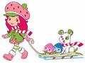Strawberry Shortcake Snow Fun