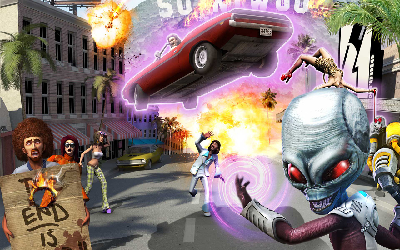 Destroy All Humans images Sunnywood HD wallpaper and ...