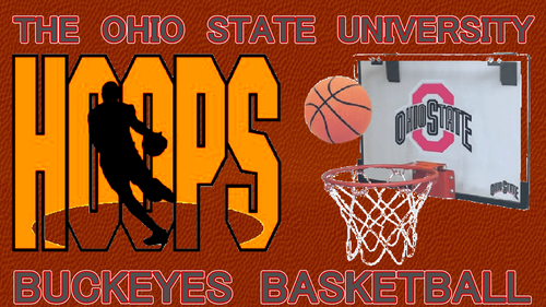 THE OSU BUCKEYES bola basket