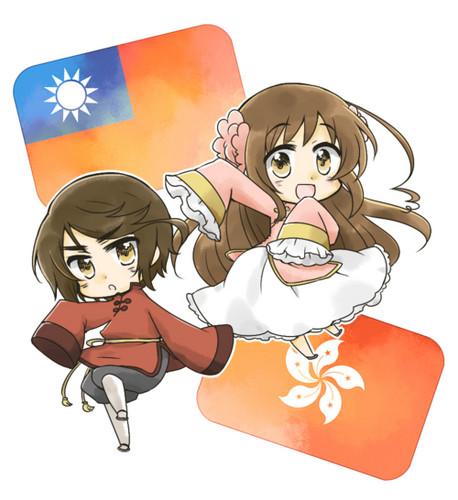 Taiwan x Hong Kong