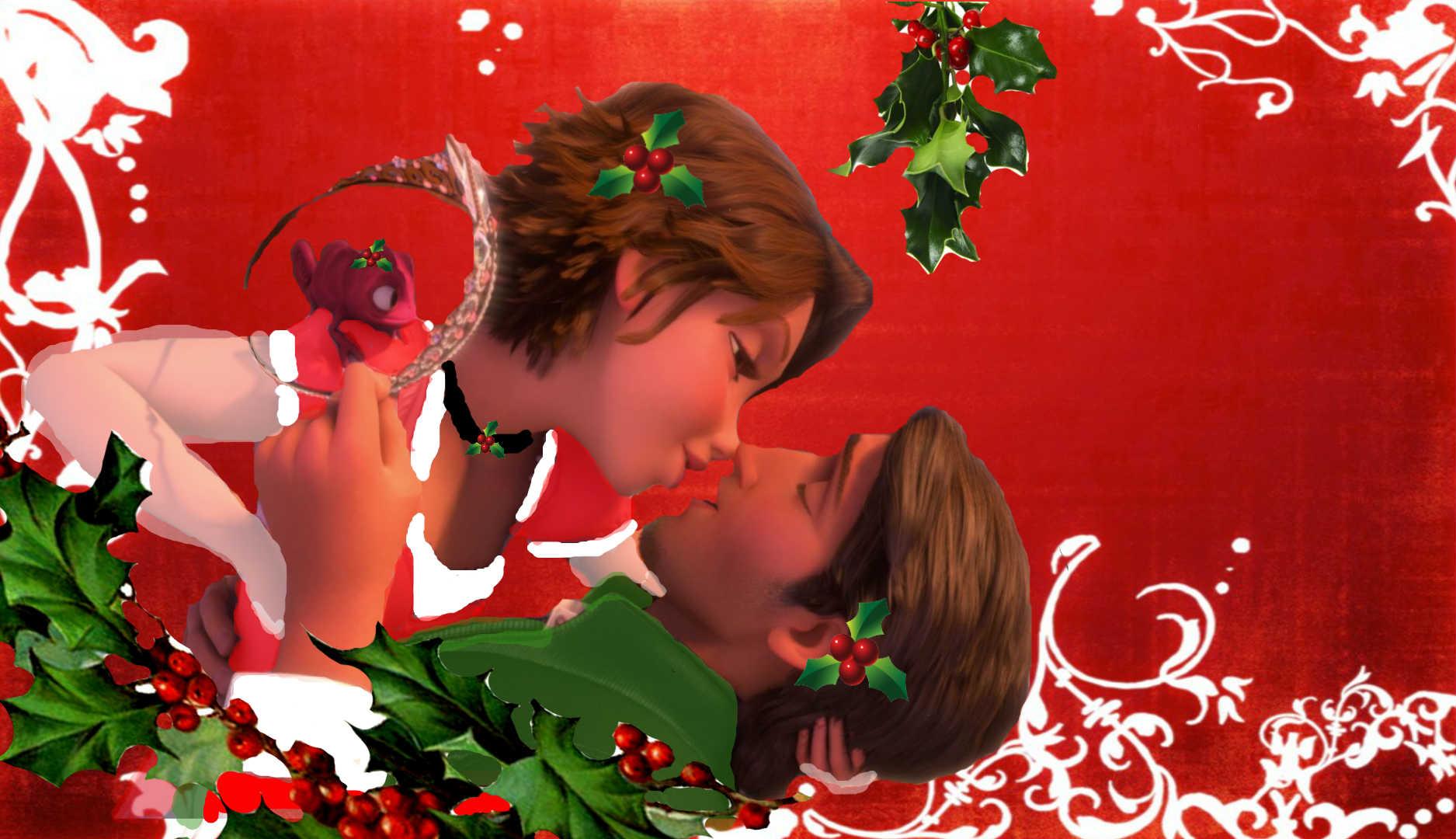 Rapunzel Fitzherbert Art (12Rapunzel) images Tangled Christmas Kiss ...