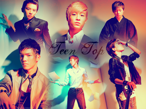 Teen Top wallpaper probably with a portrait called Teen Top