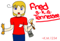 Tennessee/Fred  - hetalia-fan-characters fan art