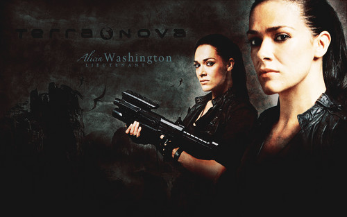 Terra Nova wallpaper called Alicia Washington