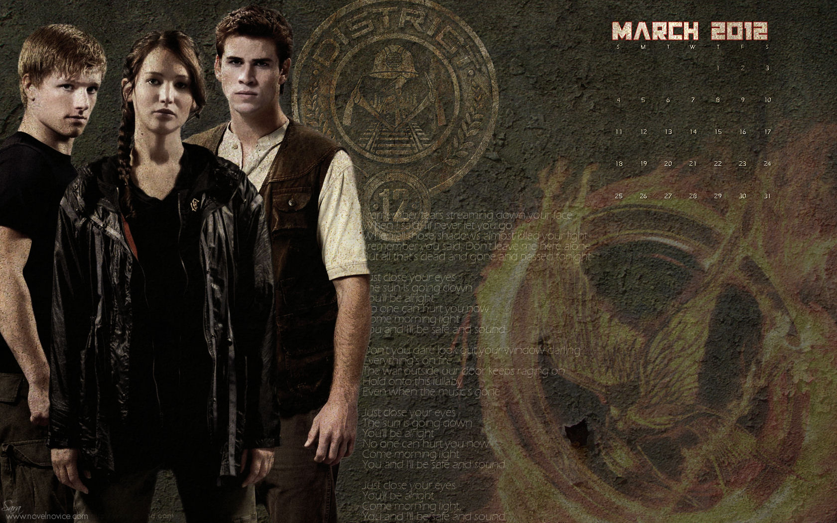 The hunger games the hunger games wallpapers