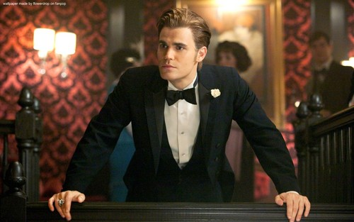 The Vampire Diaries پیپر وال probably containing a business suit and a dress suit titled The Vampire Diaries ღ
