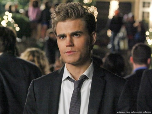 The Vampire Diaries پیپر وال with a business suit and a suit entitled The Vampire Diaries ღ