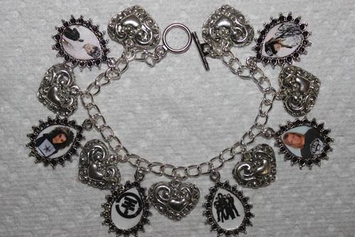 Tokio Hotel Charm Bracelet