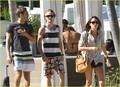 Tom Felton & Jade Olivia: Pair By The Pool