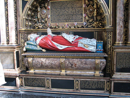 Tomb at Westminster