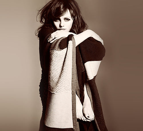 Vanessa Paradis for Elle (France) January 2012